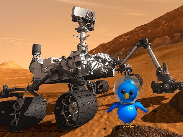 Curiosity bird (Foto: Nasa/JPL-Caltech )