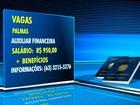 Confira as vagas de emprego e estágio para três cidades do Tocantins