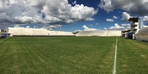 Estádio Cornélio de Barros - Salgueiro x Náutico (Foto: Lucas Liausu)