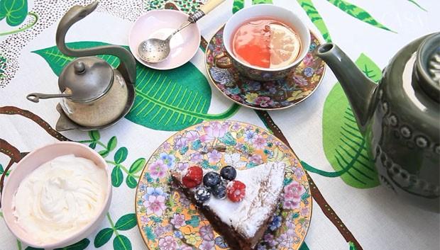 Como montar uma mesa de chá à inglesa (Foto: Reprodução)