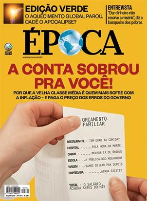 Capa - Edição 784 (Foto: reprodução/revista ÉPOCA)