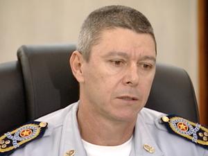 Comandante da PM, Ronalt Willian, disse que denúncias feitas por parte do coronel Gonçalves serão apuradas (Foto: Reprodução/TV Gazeta)