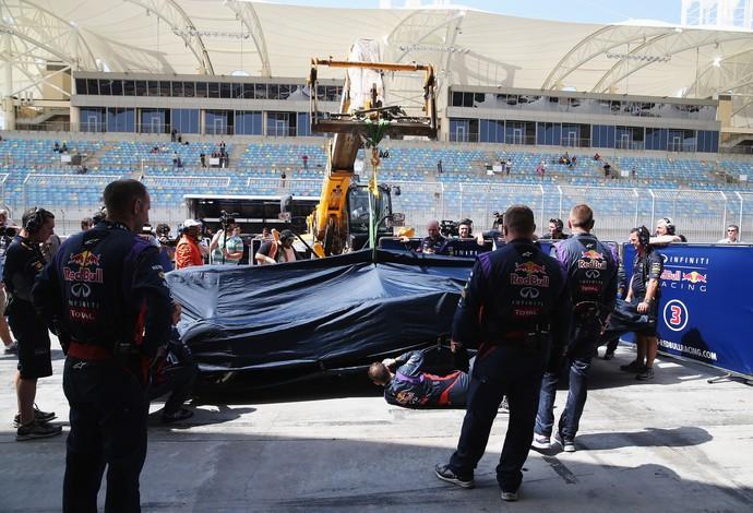 RBR enfrentou novos problemas no Bahrein (Foto: Getty Images)