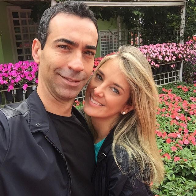 Ticiane Pinheiro e César Tralli (Foto: Reprodução/Instagram)