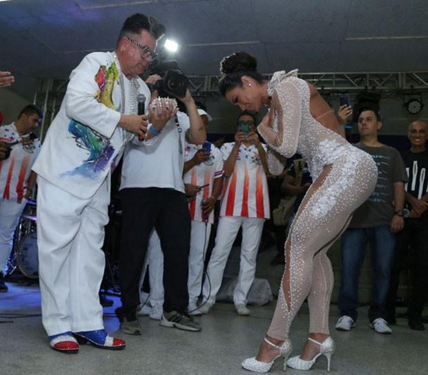 Milton Cunha e Gracyanne (Foto: AgNews / Anderson Borde)