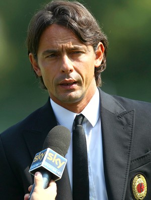 Filippo Inzaghi técnico juniores Milan (Foto: Getty Images)