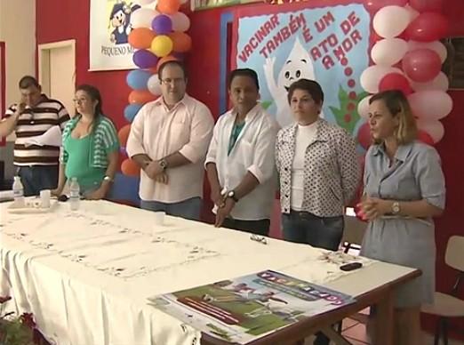 Lançamento da campanha ocorreu na manhã desta sexta (15) (Foto: Jornal de Rondônia)