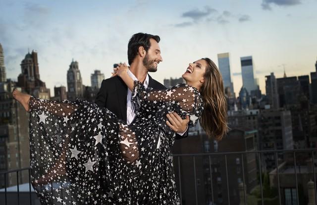 Rodrigo Santoro e Alessandra Ambrósio (Foto: Eric Guillemain/Arquivo Vogue)