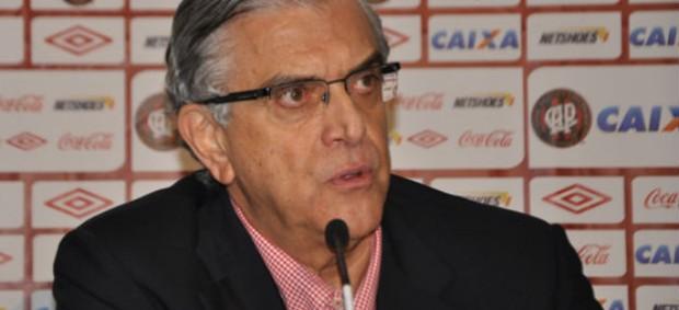 Presidente do Atlético-PR, Mario Celso Petraglia (Foto: Divulgação/Site oficial do Atlético-PR)
