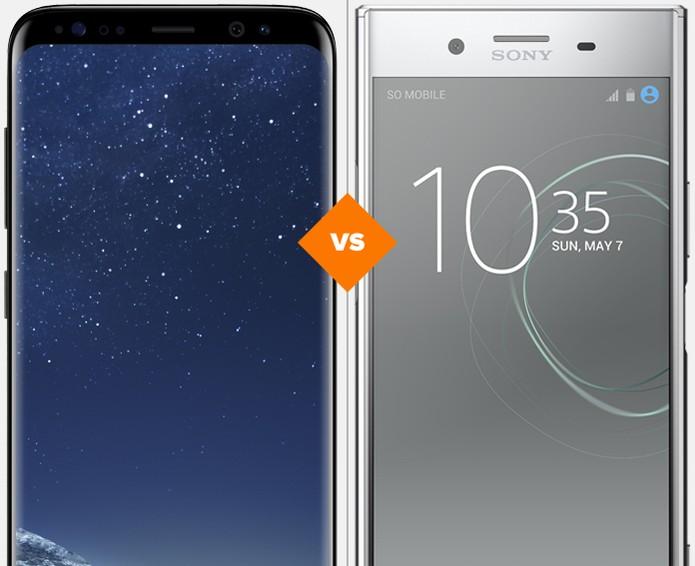 Galaxy S8 ou Xperia XZ Premium: veja qual celular se sai melhor no comparativo (Foto: Arte/TechTudo)