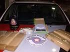 Polícia apreende 8 quilos de maconha (Divulgação/ Polícia Militar)