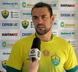 Alex Willian, Cuiabá (Foto: Pedro Lima/Cuiabá Esporte Clube)