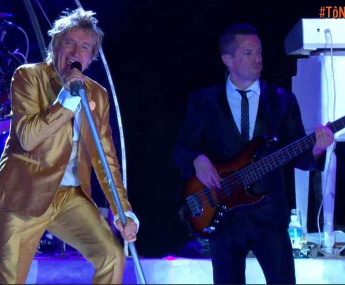 Britânico encerra a noite de shows (Foto: Gshow)