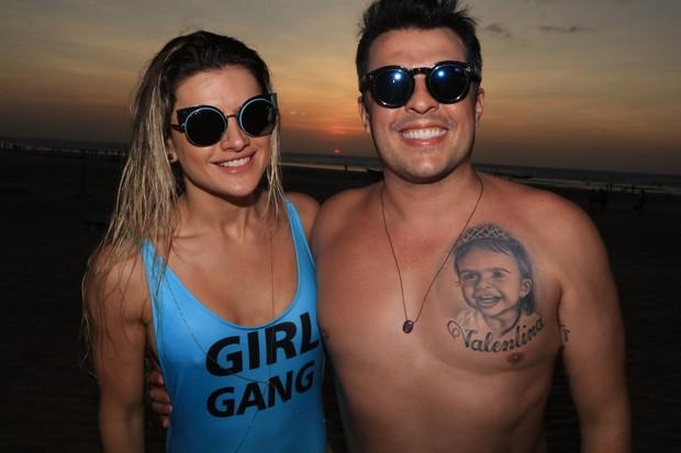 Mirella e Ceará (Foto: Fred Pontes / Divulgação)