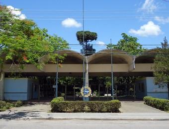Centro poliesportivo do São José Esporte Clube, conhecido como Teatrão (Foto: Danilo Sardinha/Globoesporte.com)