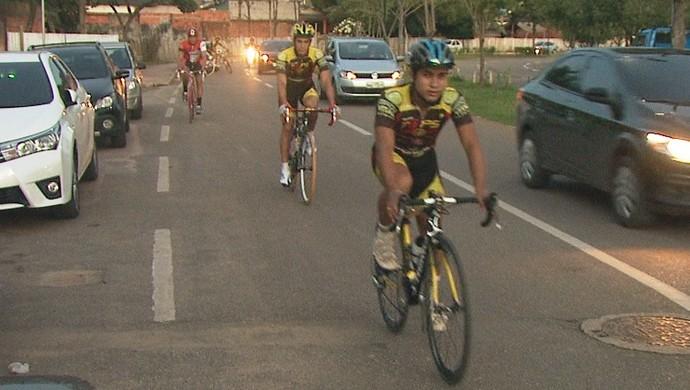 Campeonato Acreano de Ciclismo (Foto: Reprodução/Rede Amazônica Acre)