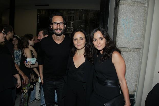Rodrigo Santoro e Alice Braga (Foto: Marcello Sá Barretto/AgNews)