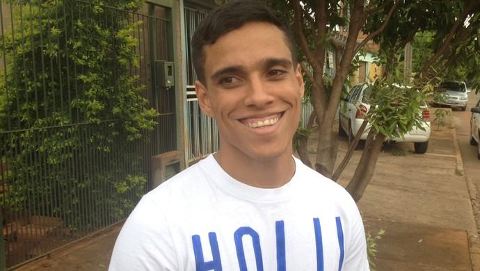 Wendell Lira, único representante brasileiro no Prêmio Puskas 2015 (Foto: Sílvio Túlio)