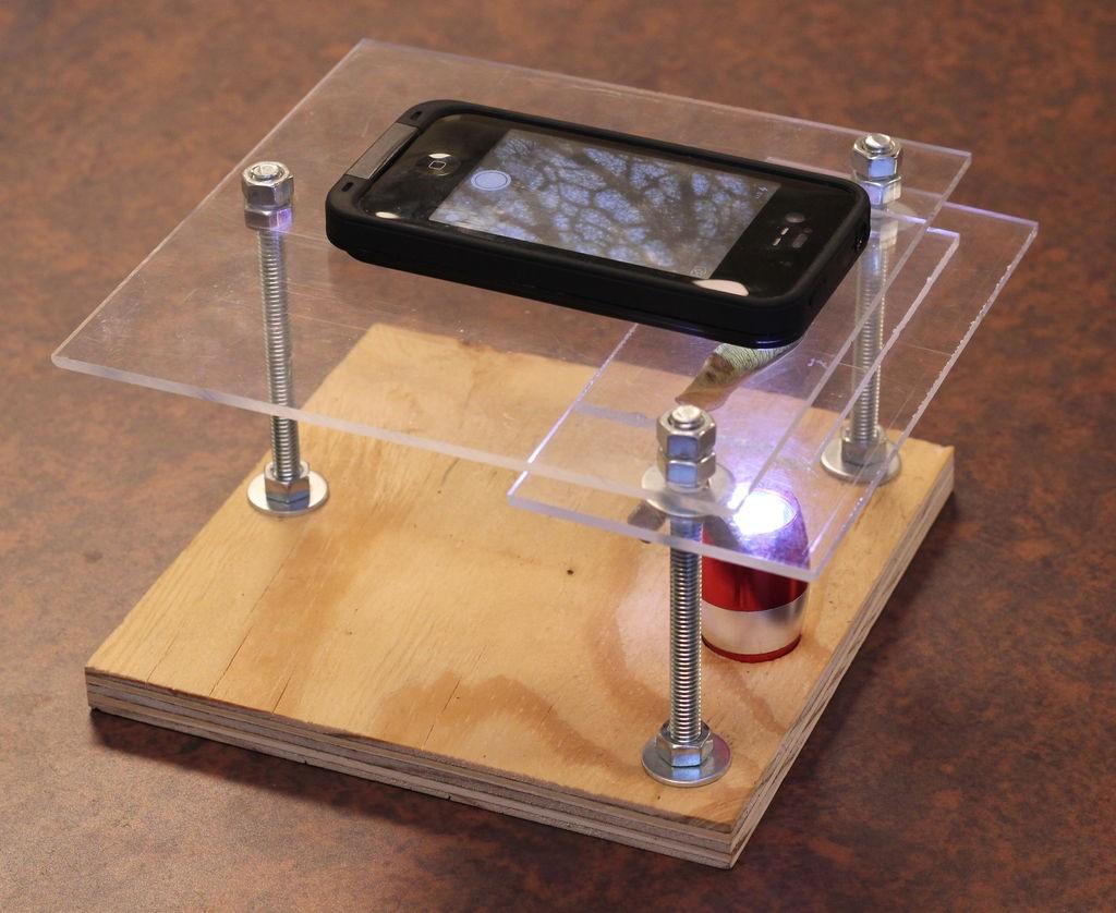 Aprenda como transformar seu smartphone em um microscópio caseiro