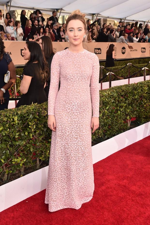Saoirse Ronan no SAG Awards (Foto: Getty Images)