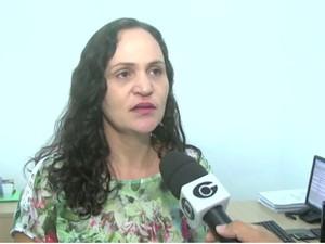 Delegada Paula Mercês fala que caso está sendo investigado pela Polícia Civil (Foto: TV Gazeta/Reprodução)