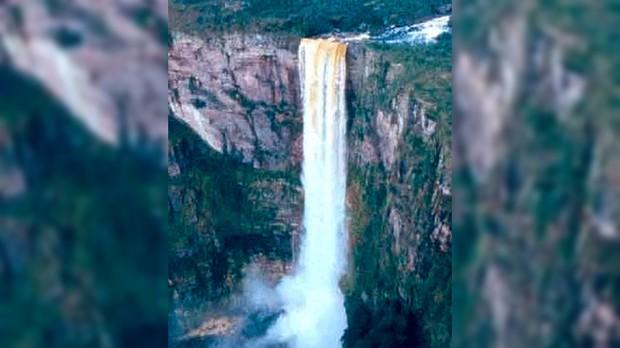 Cachoeira El Dorado, Amazonas  (Foto: VisitBrasil / Divulgao )