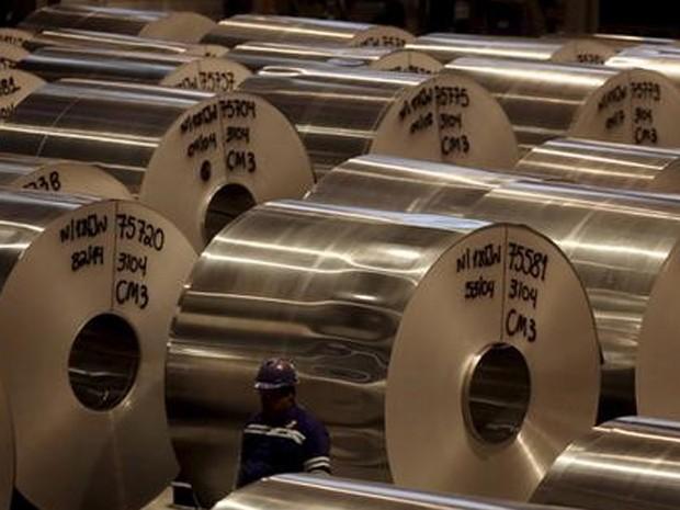 Produção da indústria voltoua  cair depois de cinco altas seguidas. (Foto: REUTERS/Paulo Whitaker)