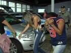 Jovens e menor são suspeitas de agredir vítimas com facão em assaltos