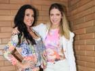 Sheila Mello e Scheila Carvalho anunciam parceria