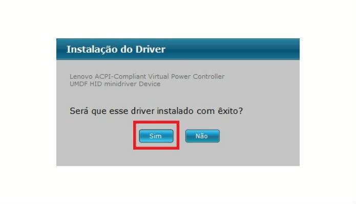 Atualização de drive é feita automaticamente (Reprodução/Rafaela Antunes)