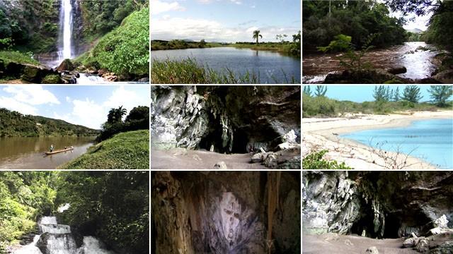 Cidades do Vale do Ribeira (Foto: Reprodução/TV Tribuna)