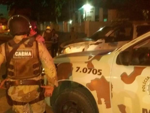 Policiamento foi reforçado no local por causa da revolta dos moradores (Foto: Arquivo pessoal)