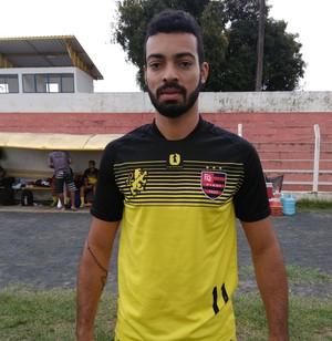 Júnior, atacante do Flamengo-PI (Foto: Abdias Bideh/ECF)
