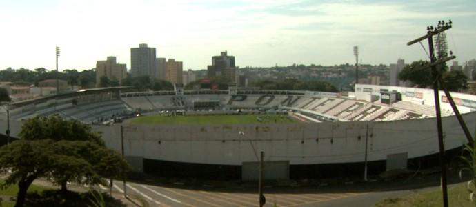Estádio Moisés Lucarelli, em Campinas (Foto: Carlos Velardi / EPTV)