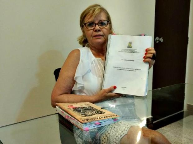 Professora Rita Monteiro possuia uma tese de doutorado sobre o caso Damião Ximenes (Foto: Arquivo Pessoal )
