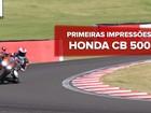 Honda CB 500X, CB 500F e CBR 500R 2016: primeiras impressões