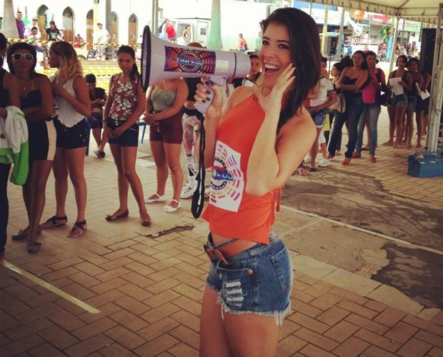 Elenita Machado em Cruzeiro do Sul