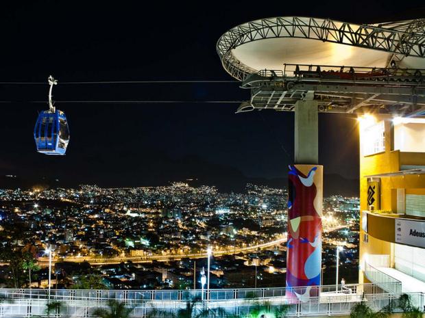Teleférico do Alemão (Foto: Bruno Itan)