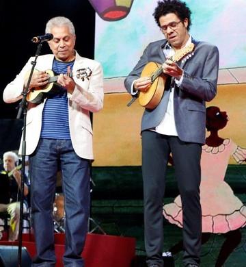Prêmio da Música Brasileira - Paulinho da Viola e Hamilton de Holanda (Foto: AG.News)