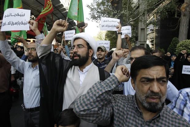 manifestantes irã (Foto: Vahid Salemi/AP)