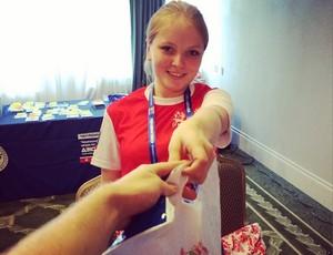 judô voluntária mundial Chelyabinsk (Foto: Site Oficial  )