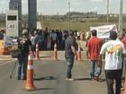 Manifestantes reclamam de praça de pedágio entre São Paulo e Paraná