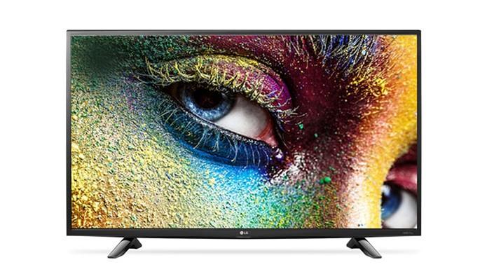Smart TV da LG vem com tela de 43 polegadas 4K (Foto: Divulgação/LG)