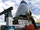 Decolagem do maior avião do mundo é novamente adiada em SP