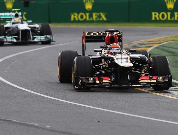 Kimi Raikkonen lotus GP da Austrália (Foto: Agência Getty Images)