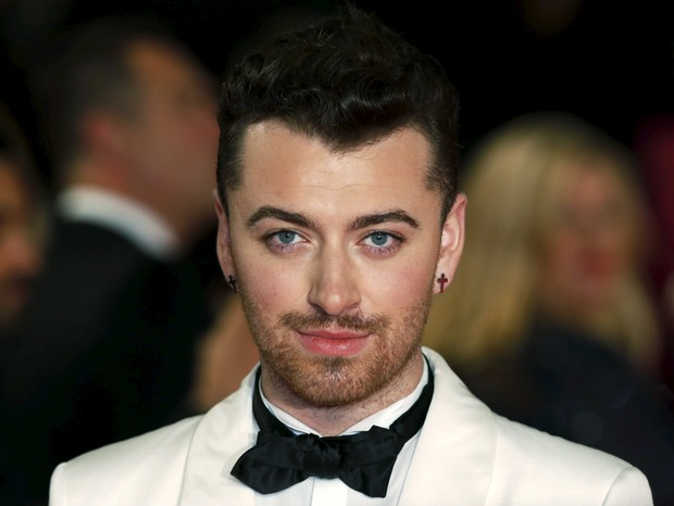 Sam Smith na estreia do filme 007 (Foto: REUTERS/Luke MacGregor)