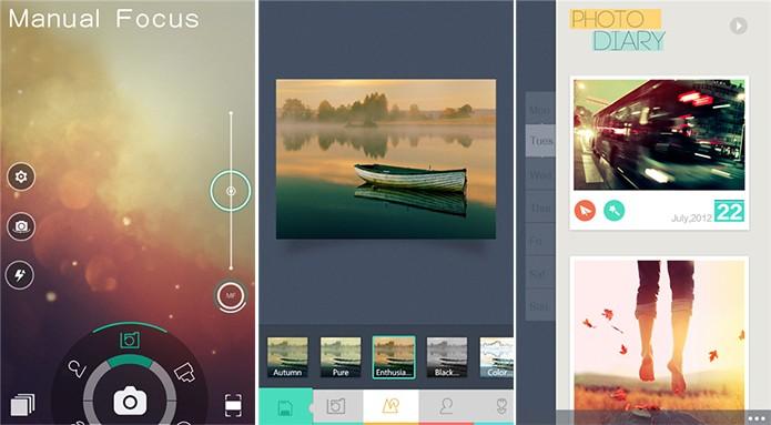Camera360 é um aplicativo de fotos com efeitos e edição completada para Windows Phone (Foto: Divulgação/Windows Phone Store)