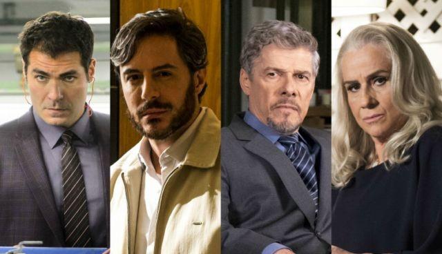 Ciro, Augusto, Tião e Magnólia serão suspeitos (Foto: TV Globo)