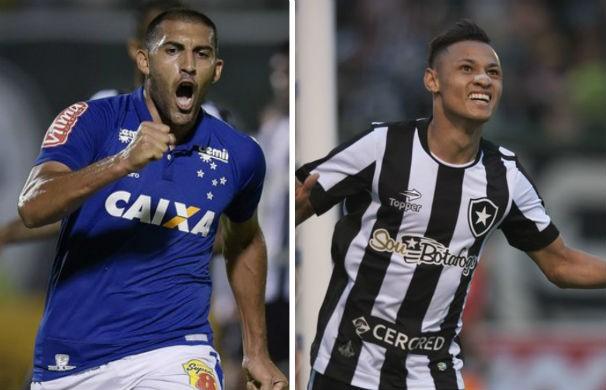 Cruzeiro recebe o Botafogo em busca da quarta vitória seguida (Foto: montagem/GE)