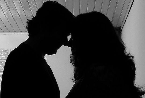 NA FOTO, A PSICÓLOGA E SEU MARIDO PEDRO (Foto: Arquivo pessoal)